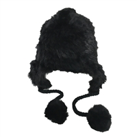 Fashion Culture Real Rabbit Fur Trapper Bomber Hat