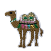 We Bumpin Camel Embroidered Iron On Patch Applique