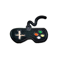 Retro Game Controller Embroidered Iron On Patch
