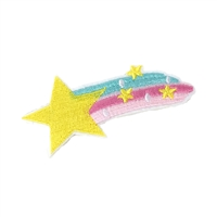 Fashion Culture Shooting Star Iron On Patch