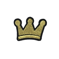 Fashion Culture Mini Crown Iron On Patch Applique