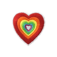 Fashion Culture Growing Heart Iron On Patch