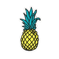 Sweet Pineapple Embroidered Iron On Patch Applique