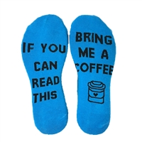 If You Can Read This... Bring Me A Coffee Socks