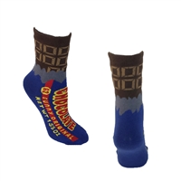 Kitsch Retro Chocolate Bar Crew Socks