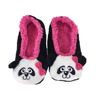 Fashion Culture PandaFuzzy Slipper Socks