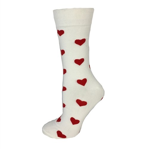Fashion Culture Heart Print Trouser Socks