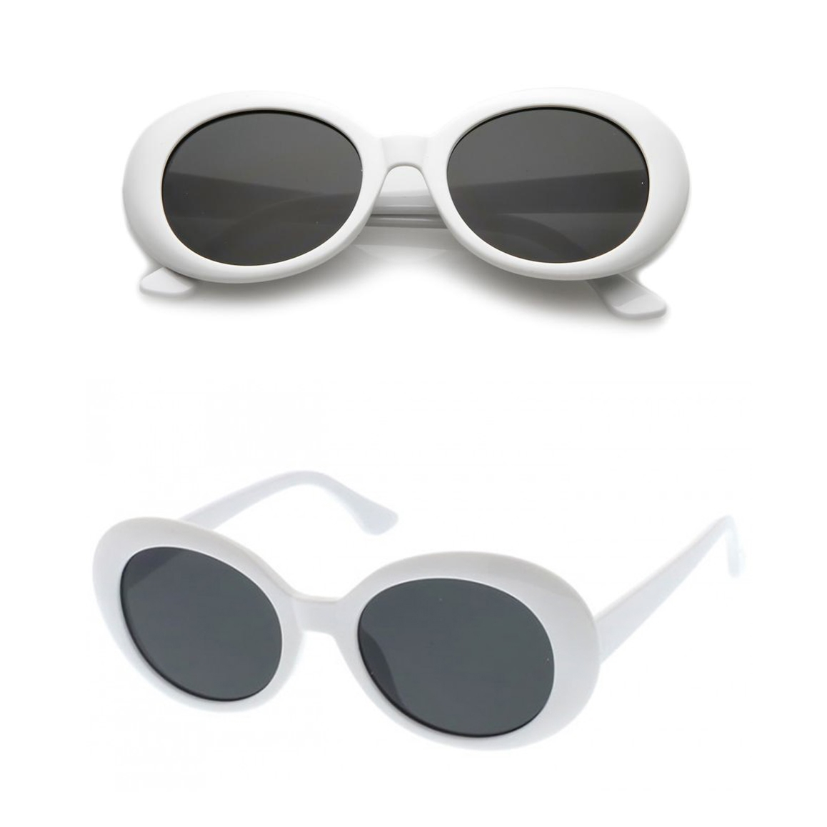2b16b3ff19ce7 Polly 53MM Oversized Oval Clout Sunglasses