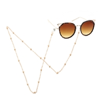 Fashion Culture Beaded Station Sunglasses Chain Strap