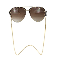 Fashion Culture Popcorn Chain Sunglasses Strap