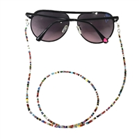 Fashion Culture Coloful Beaded Sunglasses Strap Glasses Lanyard