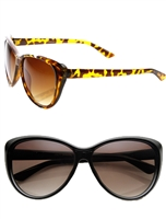 'Naya' Women's Oversized Cat Eye Sunglasses
