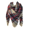 Cozy Plaid Oversized Blanket Scarf