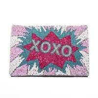 From St Xavier XOXO Convertible Clutch