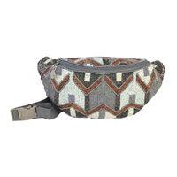 From St Xavier Elijah Beaded Waist Pack Fanny Bag
