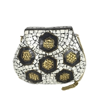 From St Xavier Debbie Mosaic Evening Bag
