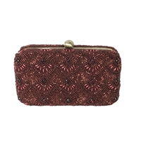 From St Xavier Colden Box Convertible Clutch Evening Bag