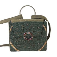 From St Xavier Emilie Beaded Belt Bag Waist Pack