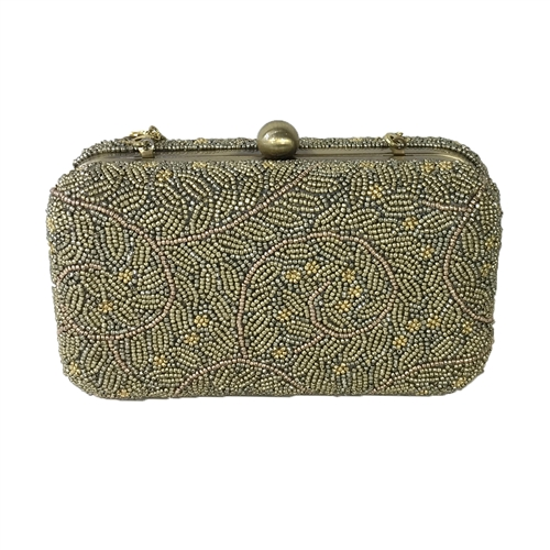 From St Xavier Ivy Box Convertible Clutch Evening Bag