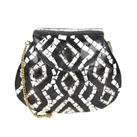 From St Xavier Wes Mosaic Evening Bag