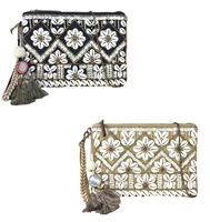 Steven Fenya Seashell Embellished Clutch