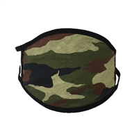 Camouflage Print Reusable Washable Face Mask Face Covering