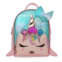 LaLa Furry Rainbow Kitty Mini Backpack