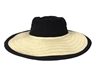 Magid Linen Crown Floppy Paper Straw Sun Hat