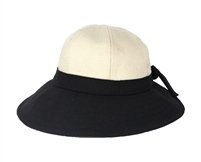 Magid Two-Tone Canvas Sun Hat