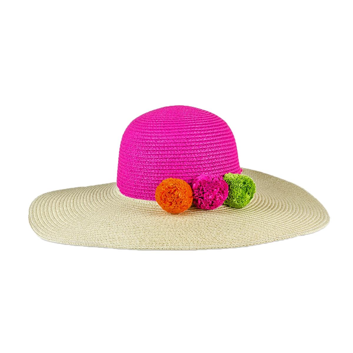 b7eafc435 Magid Cocktail Time Floppy Straw Sun Hat, Multi