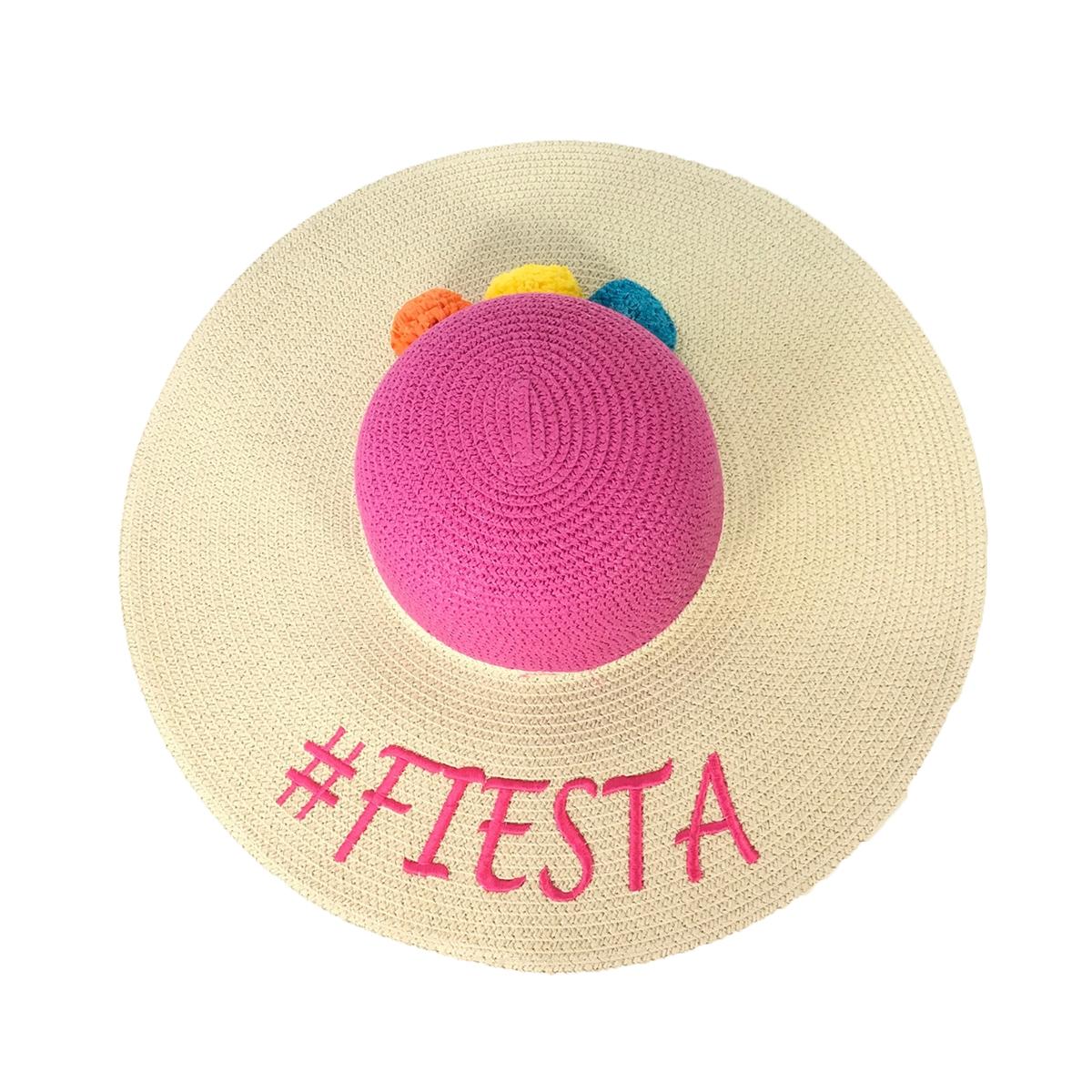 614b7cb7 Magid #Fiesta Floppy Straw Sun Hat, Multi