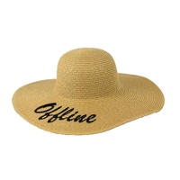 Magid Offline Floppy Wide Brim Straw Sun Hat