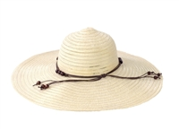Magid Floppy Semi Sheer Paper Straw Sun Hat