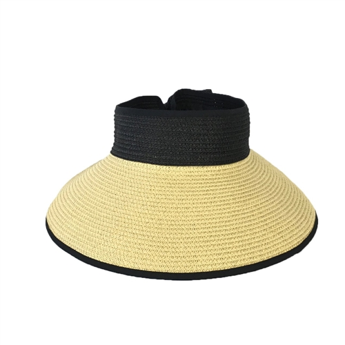 Magid Packable Straw Sun Visor