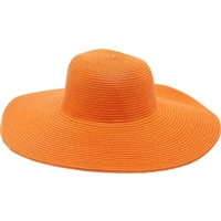 Magid Color Pop Wide Brim Floppy Straw Sun