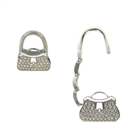 Pave Purse Portable Handbag Hanger Purse Hook
