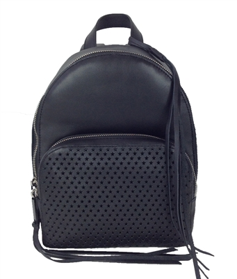 Rebecca Minkoff Star Perforated Leather Backpack