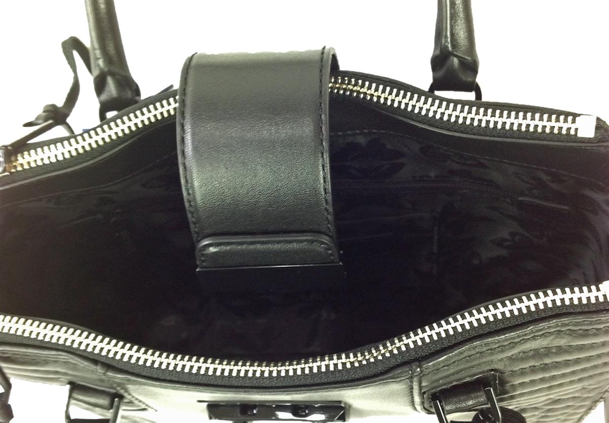 db470bc359cb Rebecca Minkoff Aliz Mini Tote Quilted Leather Bag