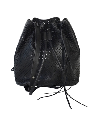 Rebecca Minkoff Star Perforated Leather Bucket Bag