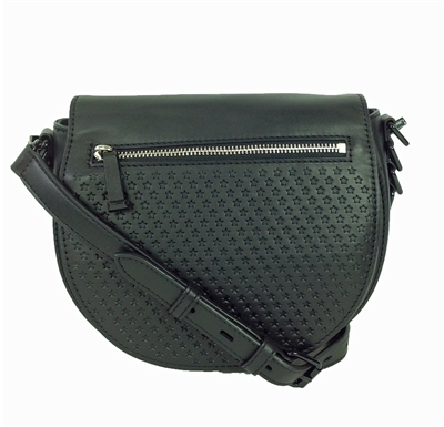 Rebecca Minkoff Star Perforated Astor Saddle Bag