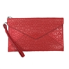 Rebecca Minkoff Perforated Patent Leather Leo Envelope Clutch