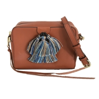 Rebecca Minkoff Mini Sofia Leather Tassel Crossbody