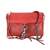 Rebecca Minkoff Mini MAC Leather Clutch Crossbody Bag