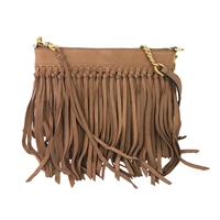 Rebecca Minkoff Stevie Leather Fringe Convertible Crossbody