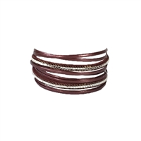 Nakamol Shine Magnetic Multi Layer Wrap Bracelet
