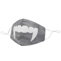 Vampire Fangs Halloween Reusable Face Mask