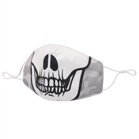 Skull Halloween Reusable Face Covering