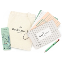 Book Lovers Journal Cards O-Ring Fill In Notes & Borrowed Book Log