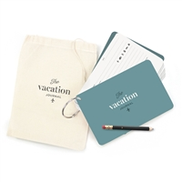 Vacation Journal Cards O-Ring Fill in Experience Notes