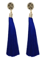 Jewelry Collection Long Tassel Earrings